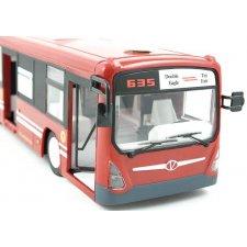RC autobus - červený