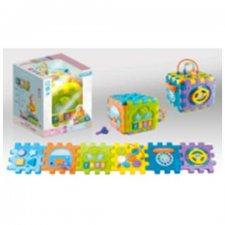 Veľká interaktívna kocka Puzzle