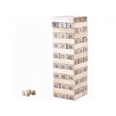 Veža Jenga drevená