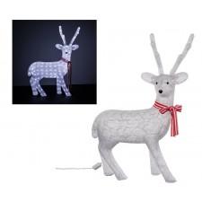 Vianočná LED ozdoba Akrylový sob veľký 200LED 100cm