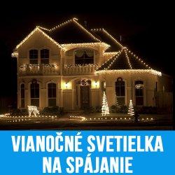 Vianočné svetielka na spájanie