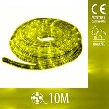 Vianočný LED svetelný HAD vonkajší - 10M Žltá