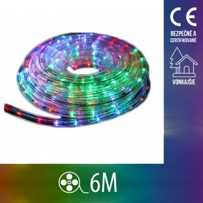 Vianočný LED svetelný HAD vonkajší - 6M Multicolour