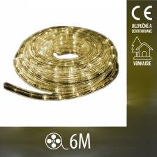 Vianočný LED svetelný HAD vonkajší - 6M Teplá biela