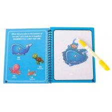 Vodná omaľovánka morský svet – modrá
