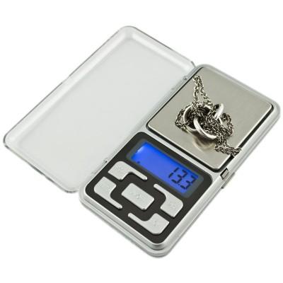 Vrecková digitálna váha 0,1g-200g