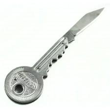 Vreckový nožík v tvare kľúča