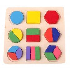 Vzdelávacia hračka: Tvary 18ks