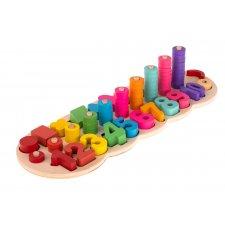 Vzdelávacia hračka: Tvary a čísla