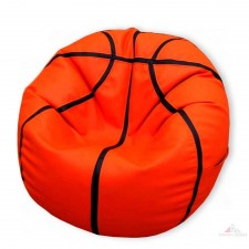 Sedací vak Basketball - ekokoža - objem 380l