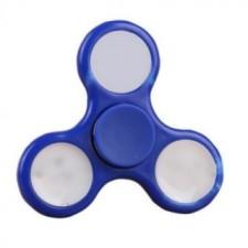 Fidget Spinner LED Modrý