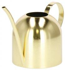 Kovová kanva na polievanie 450 ml - zlatá