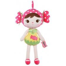 Závesná bábika MeToo – rúžová - 46 cm