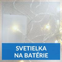 Vianočné svetielka na batérie