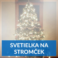 Vianočné svetielka na stromček