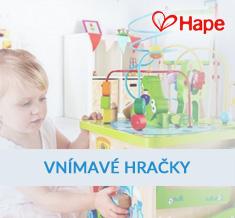 Vnímavé hračky Hape