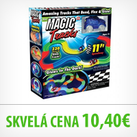 Magic Tracks - svietiaca autodráha 220ks