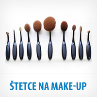 Štetce na make-up