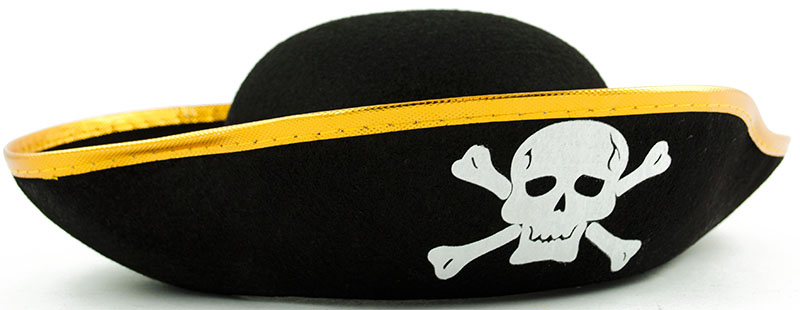 Pirátsky klobúk